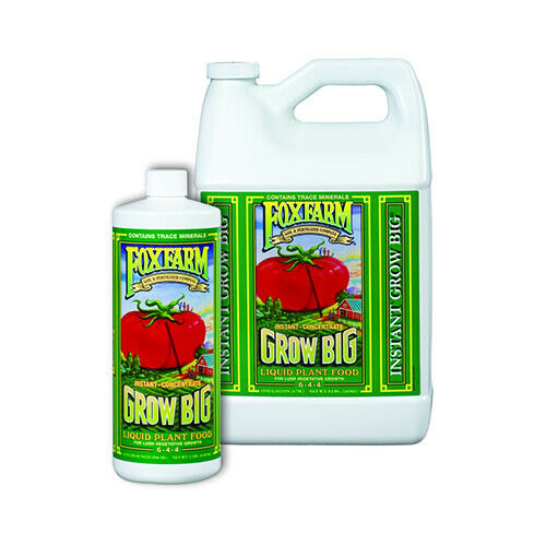 foxfarm grow big plant food organic nutrients