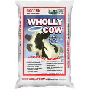 BACCTO Wholly Cow Manure, 40 qt