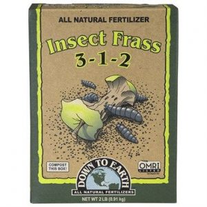 DTE Insect Frass (3-1-2), 2 lb.
