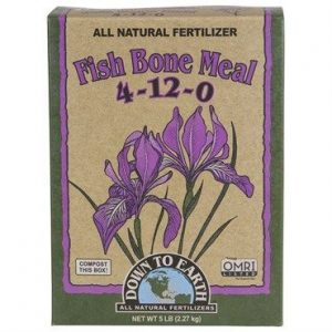 DTE Fish Bone Meal (4-12-0), 5#