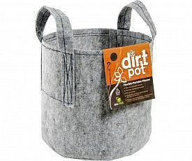Dirt Pot w/Handles, 15 gal.