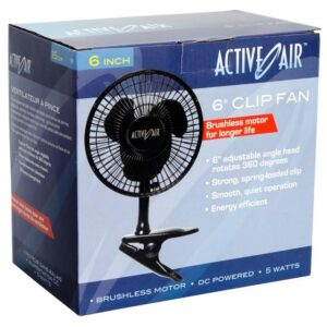 Active Air 6″ Clip Fan, 5W
