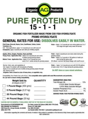 BAS Pure Protein Dry, 1 lb.