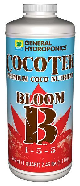 GH Cocotek Bloom B, 1 qt.