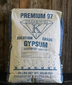 BAS Diamond K Gypsum,  3 lb.